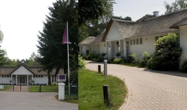 Landgoed ISVW. Als het aan het college ligt mag de eigenaar er straks een hoge toegangspoort neerzetten.
