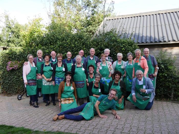 Groeps foto Vrije Kwasten 45 jarig jubileum Herald van der Breggen © BDU media