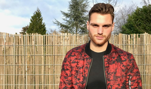 Paul Luzineau is finalist in de Mooiste Man van Nederland verkiezing