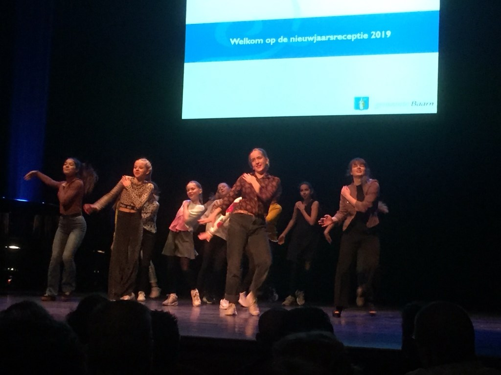De dansers maakten indruk. Christine Schut © BDU media