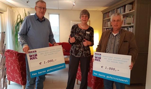 Vanaf links: Frits Slot, Gerda Settels en Felix Buys.