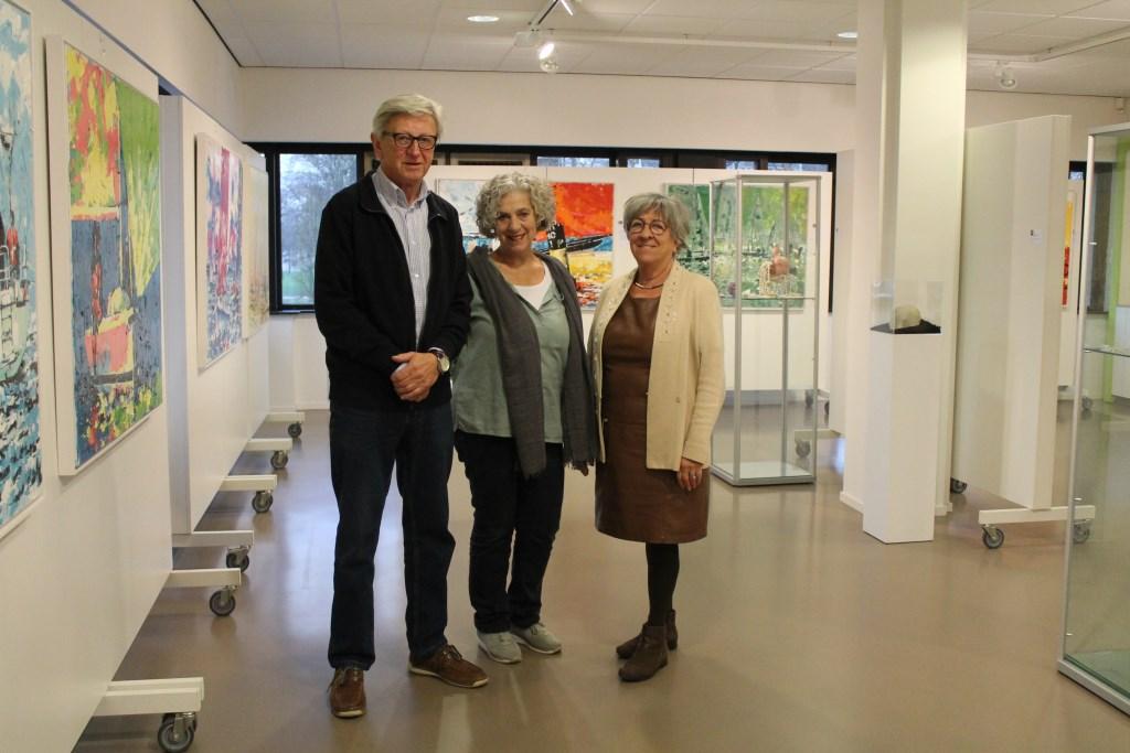 Van Links naar rechts: Martin Vermeul, Ellen van Beeck en Nicole Kruimel. Hannie van de Veen © BDU media