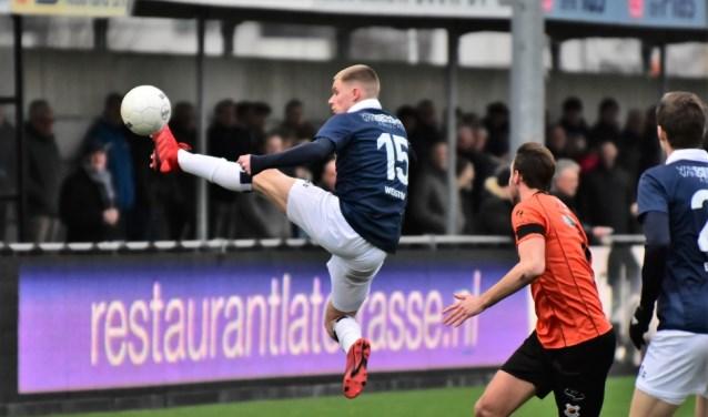 HFC laat fraai spel zien tegen Katwijk.