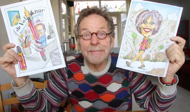 Jacques de Jong brengt zijn onderwerpen met een grijns of een glimlach in beeld.