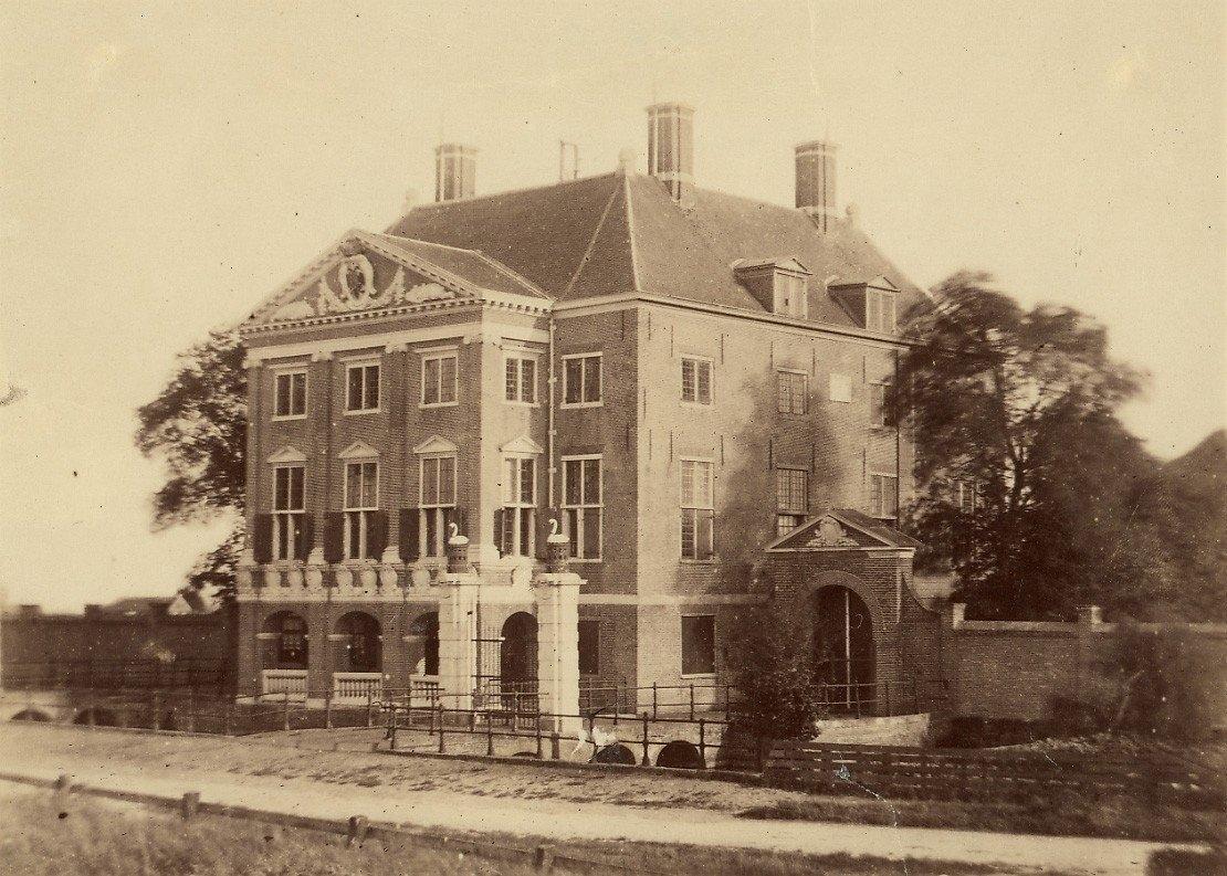 Gemeenlandshuis Rijnland Halfweg 1860 Noord-Hollands archief © BDU media
