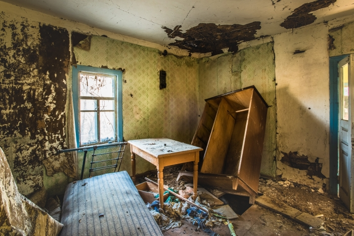 Tsjernobyl woonhuis