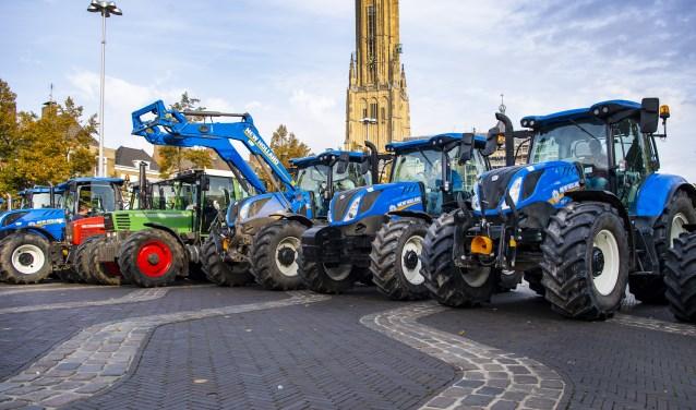 Boerenprotest, eerder deze week in Arnhem.