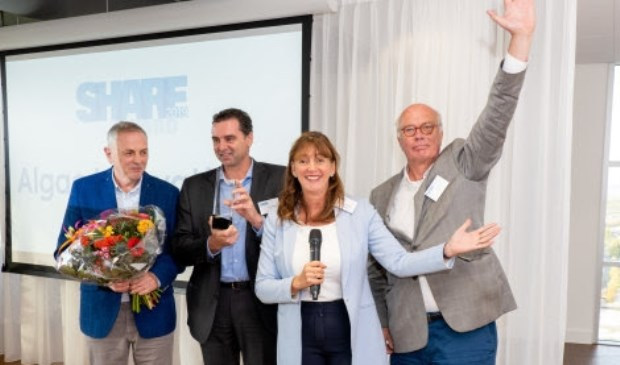 Uitreiking SHARE Award 2019.
