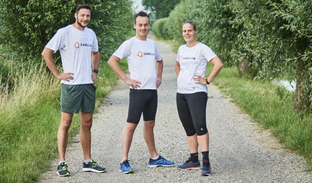 Op zondag 13 oktober gaan Marien de Hek, Ben Moen en Esther Bot-Moen de Eindhovense halve marathon lopen.