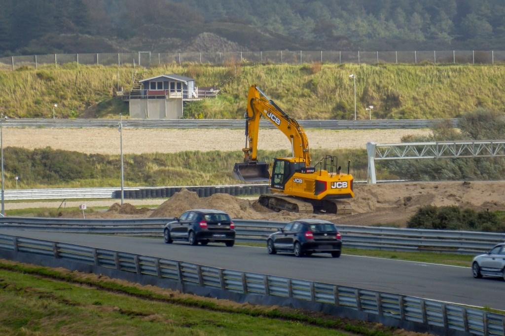 ZANDVOORT, 10-10-2019. The renovation of Circuit Zandvoort has commenced due to the Formula 1 Grand Prix 2020. Bert Westendorp © BDU media
