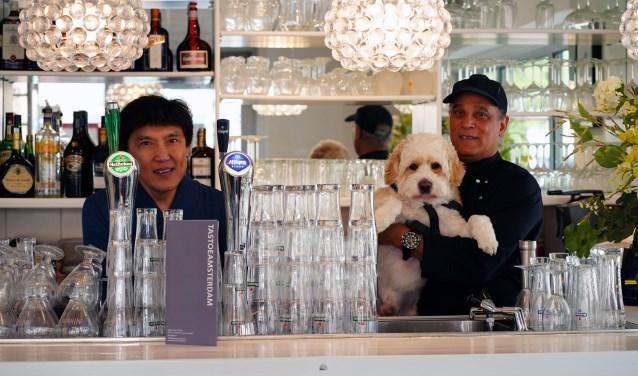 Dianto, Richard en hond Karamel