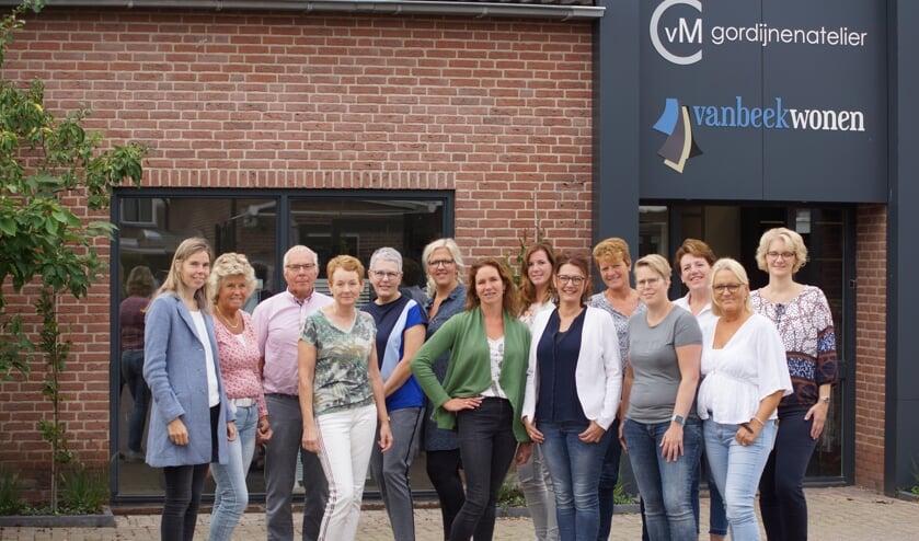 Het team achter Gordijnenatelier CVM en Van Beek Wonen.