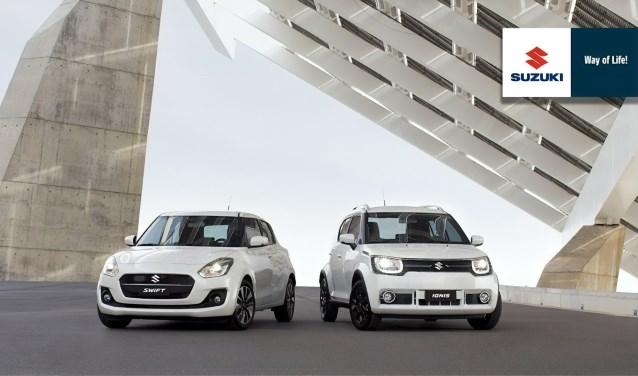 De nieuwste Ignis en Swift met het Smart Hybride Systeem staan bij Autobedrijf H. Kroon in de showroom.