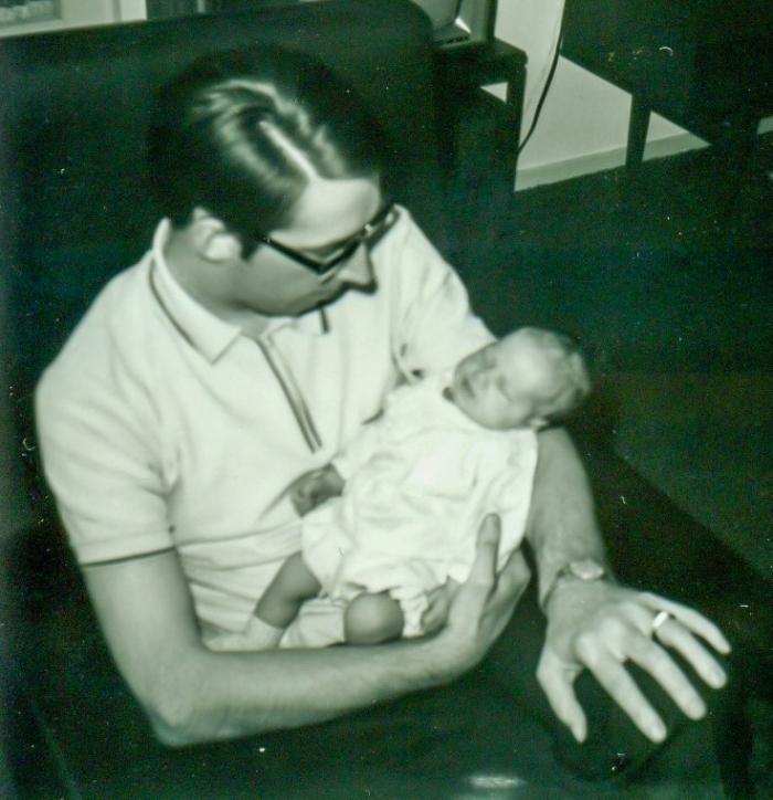 Mijn vader met mij