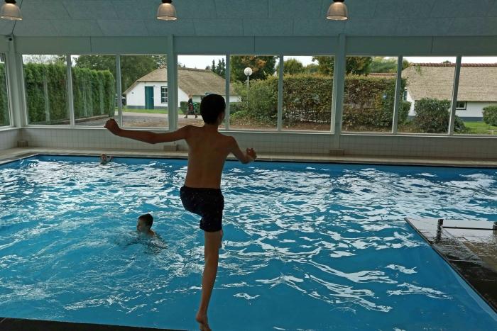 Een van de zwembaden Mari van Eeten © BDU media