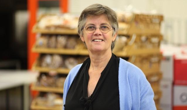 Cieka Galenkamp, coördinator van de Voedselbank.