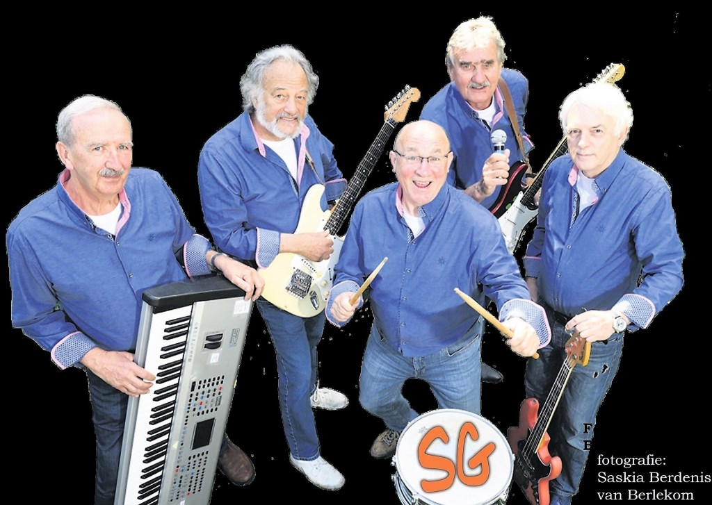 De band Sixties Generations is één van de acts die 8 december optreedt tijdens het benefietconcert 'Back to the Sixties'.