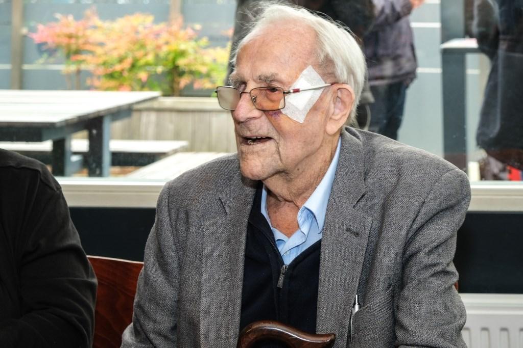 Voetbal Reuni SVH Oudste deelnemer 100 jaar Jan Aukes © BDU media