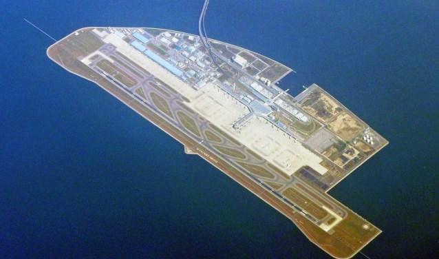 Eilandluchthaven Nagoya Chubu Centrair Airport in Japan.