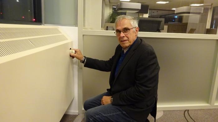 Gerrit van Breda, energiecoach bij Huurdersorganisatie Nijkerk