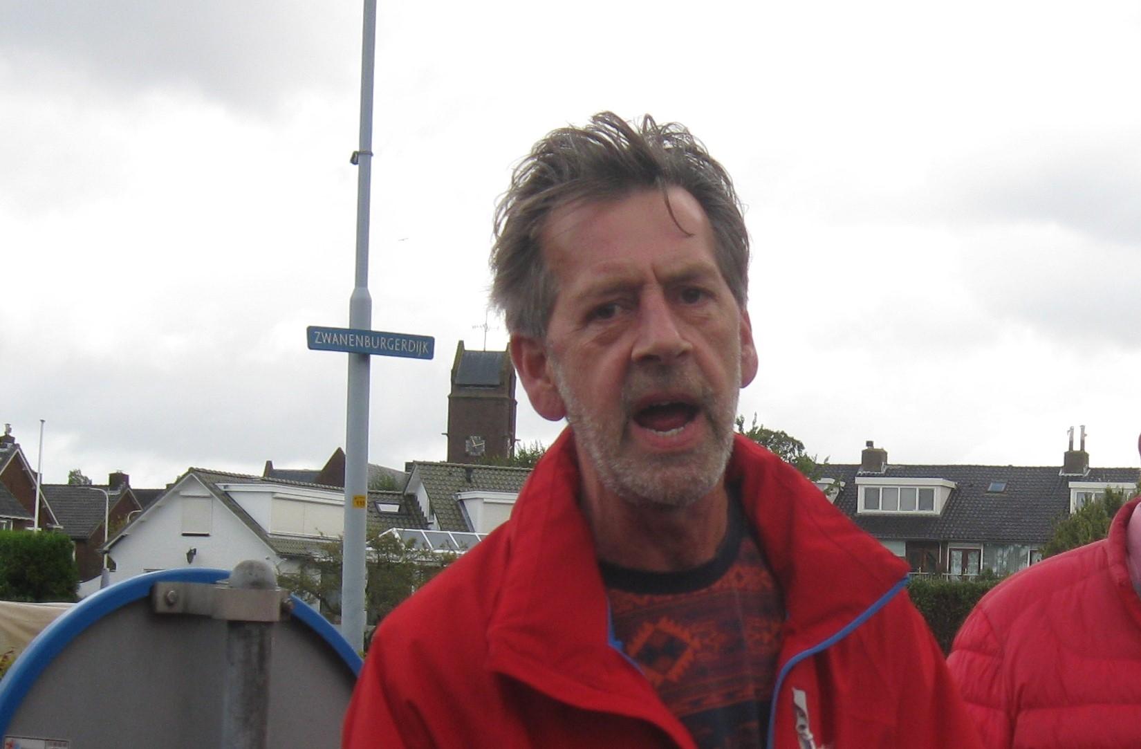 Presentator Gerard van Houwelingen Leo Kranenburg © BDU media