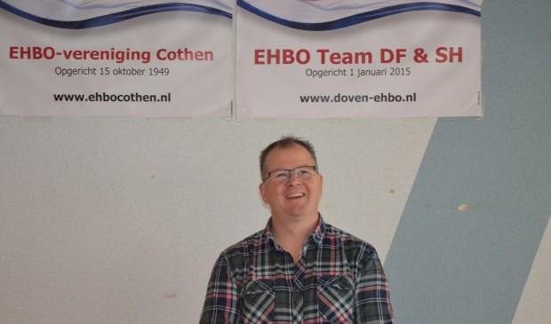 Voorzitter van EHBO Cothen, Marco de Ridder
