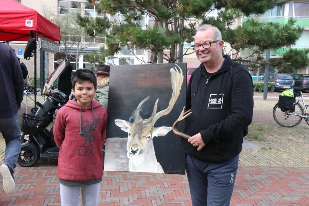 Willem van der Sloot met zoon Christian Wijnand Burger © BDU media
