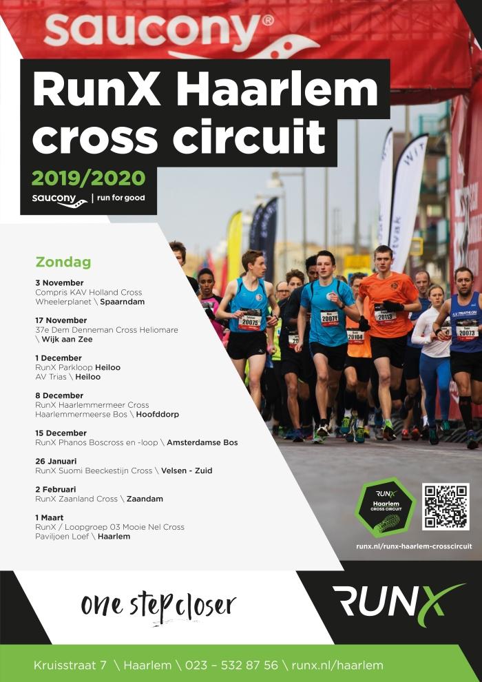 kalender RunX Haarlem Cross Circuit