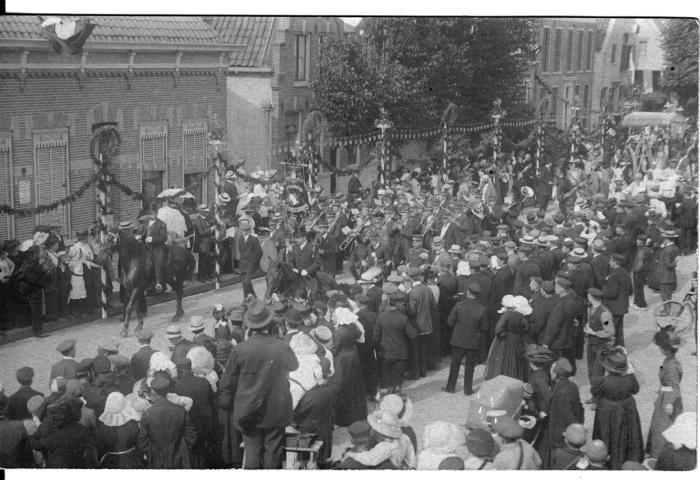 het Nijkerks Fanfare Corps begin 20e eeuw