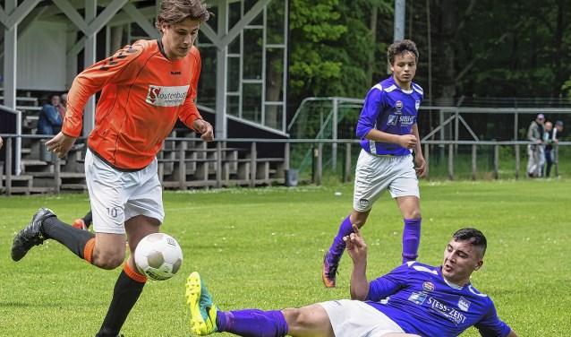 Friso Drewes maakte tegen 't Vliegdorp de 0-3.