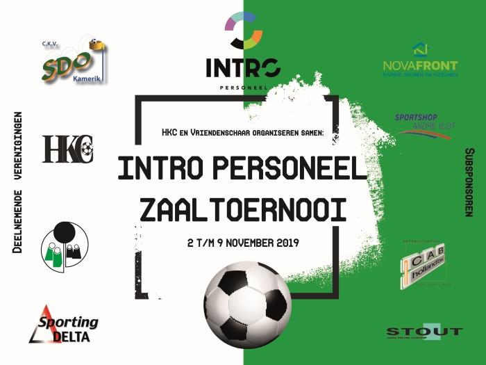 Affiche INTRO Personeel Zaaltoernooi