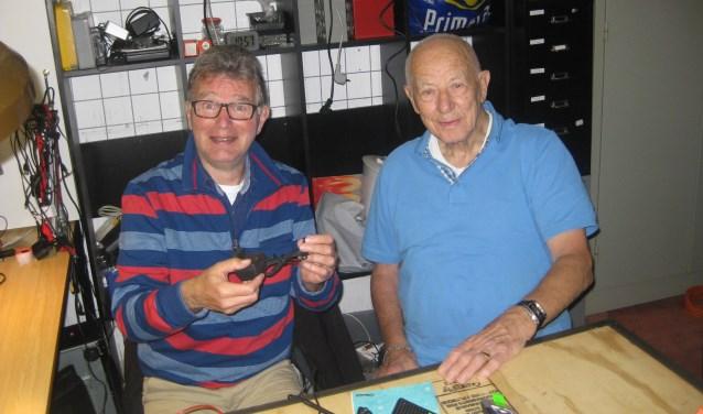Rob Schalkwijk en Wim Buitenhuis (r) komen beiden aan bod in de aflevering.