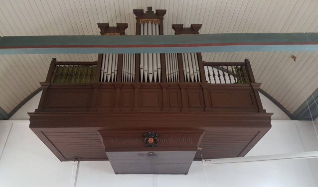 De restauratie van het orgel is afgerond