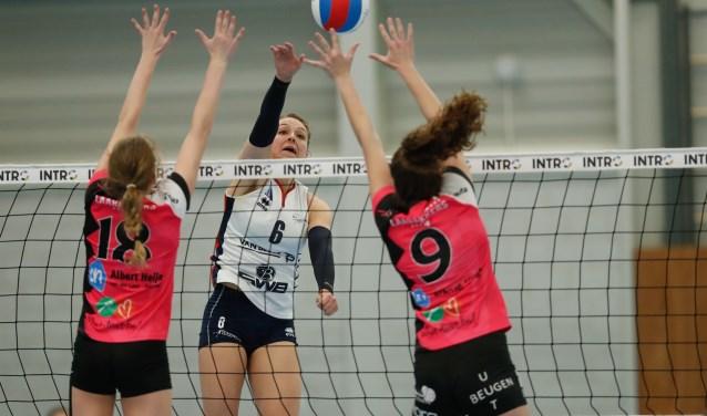 Afgelopen seizoen won Sliedrecht Sport vier keer van de 'roze vogols'.