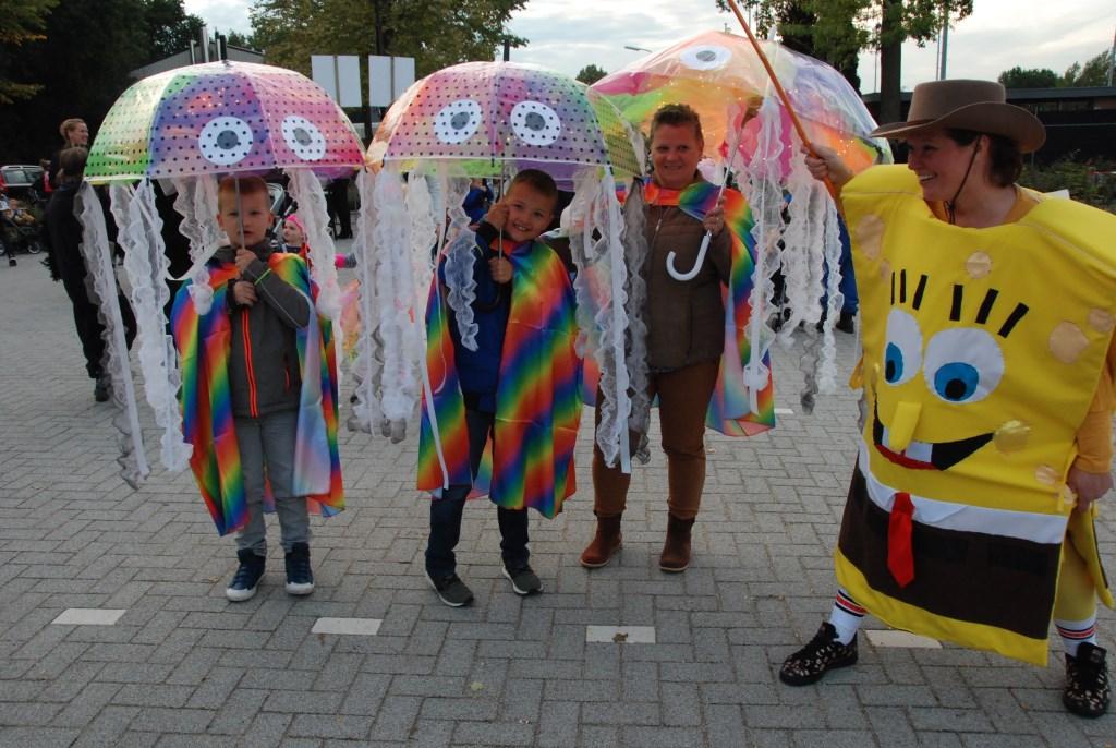 Ze waren voorzien van een paraplu, maar die was gelukkig niet nodig. Adriaan Hosang © BDU media