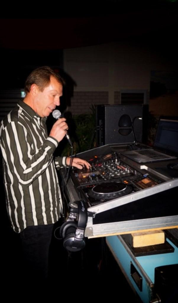 DJ Jan Borgers. Gert van der Kuij © BDU Media