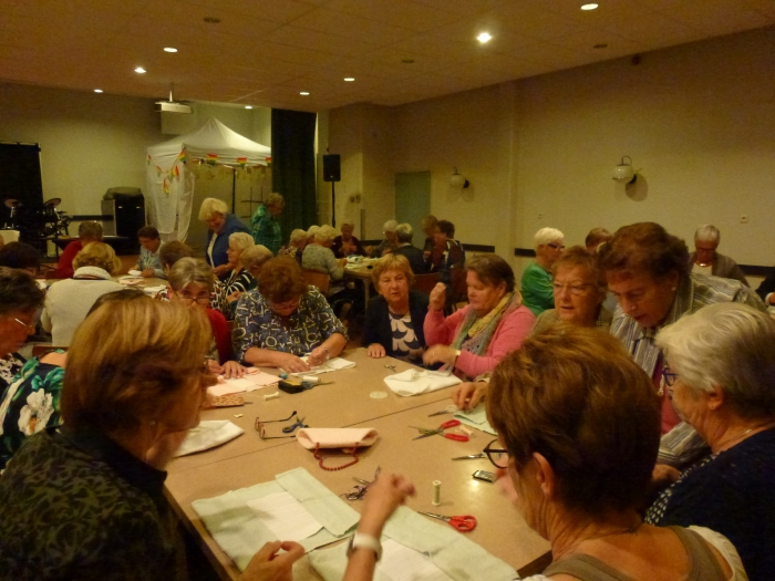 Creatieve avond met de vrouwen van Passage Nijkerk