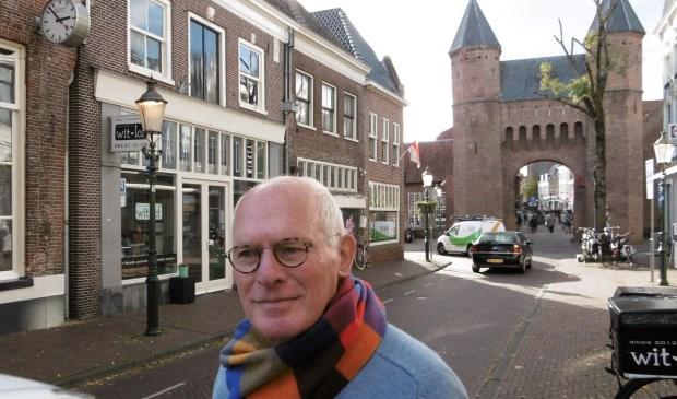 Norbert van Zwetselaar in de Kamp: 'Straatje te smal voor al dat verkeer.'
