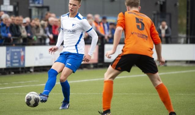 Nieuwkomer Jorrit Fiegen (dit seizoen over van Sparta Nijkerk), kon ook zijn stempel niet drukken op het treffen tegen Montfoort