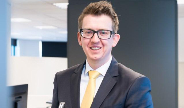 """Vincent van Veldhuizen: """"Wij staan als sparringpartner naast de ondernemer, voor advies en begeleiding""""."""