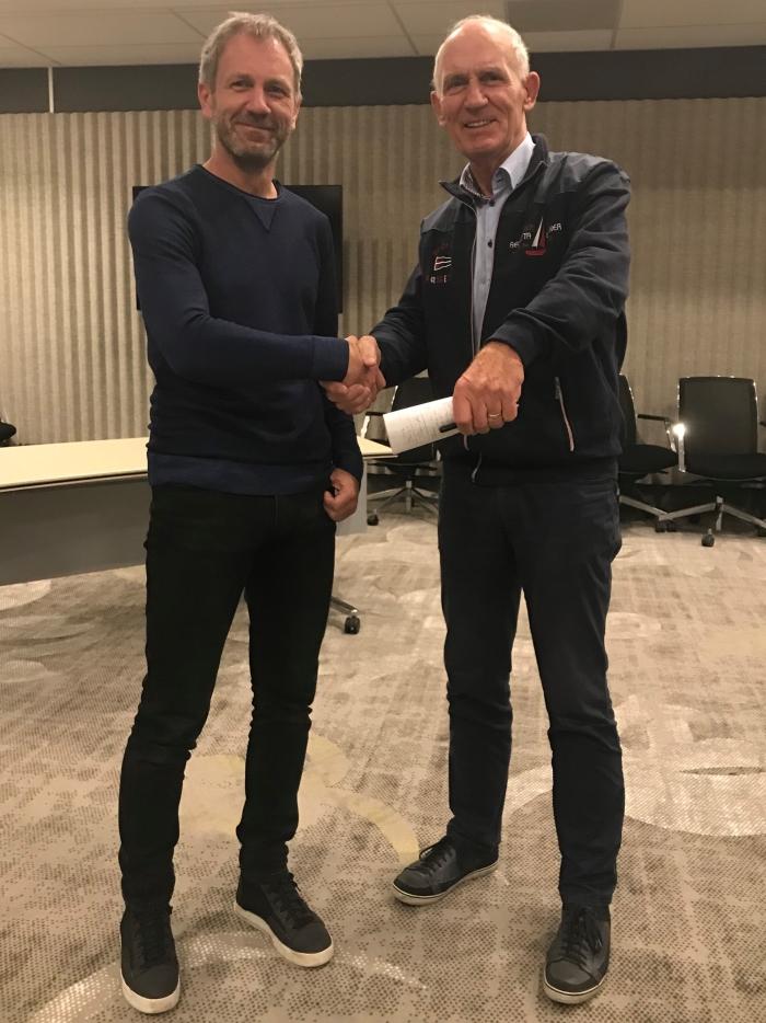 Sportformateurs Edwin Korenberg en Leo Steijn