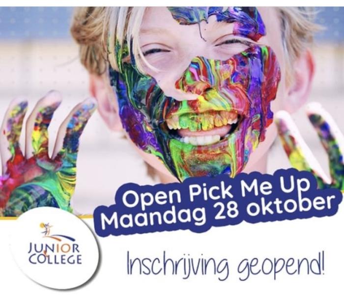 Open Pick-Me-Up op 28 oktober