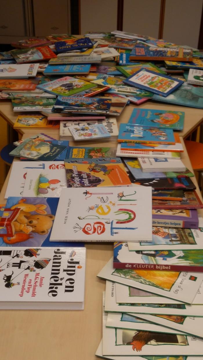 boeken van de boekenbeurs Martine © BDU Media