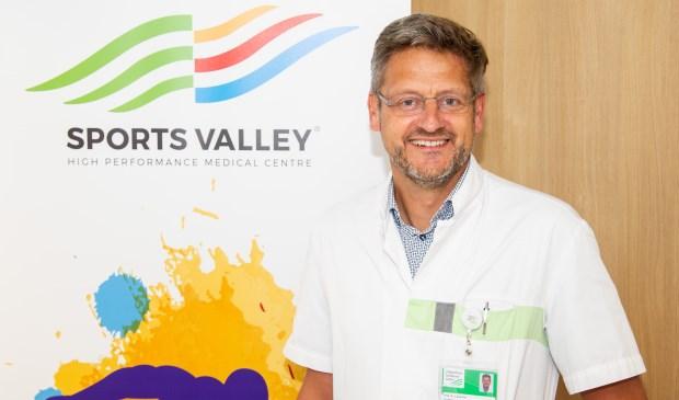 Prof. dr. Hans Zwerver, sportarts bij Sports Valley