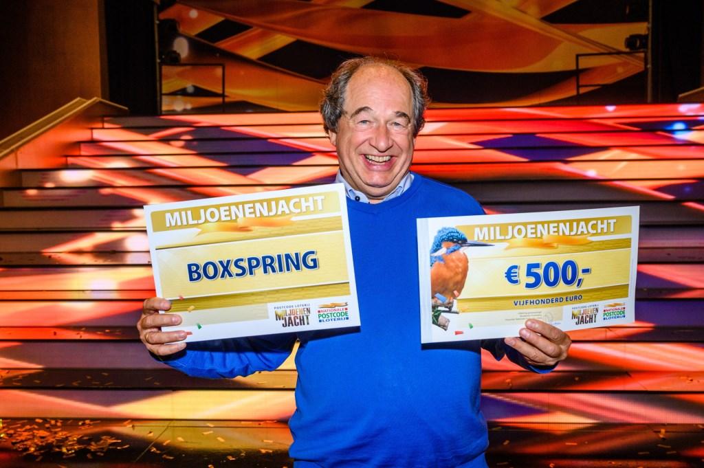 Robert heeft dubbel geluk bij Miljoenenjacht. Roy Beusker © BDU media