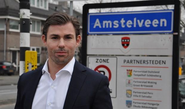 VVD-raadslid Tom Coumans. De OZB mag niet te veel stijgen van de VVD.