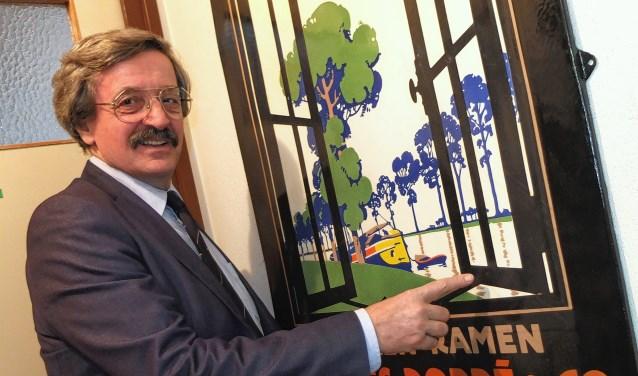 (Archieffoto) John Stoop maakt zich via Stichting Behoud Erfgoed De Vries Robbé al jarenlang sterk voor onder andere de voormalige fabriekshal van de Gorcumse staalgigant aan de Spijksedijk.