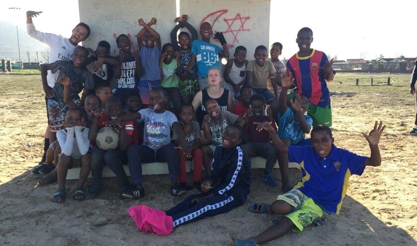 Michaël en Joline Abis zetten zich in voor straatkinderen uit sloppenwijken in Zuid-Afrika.
