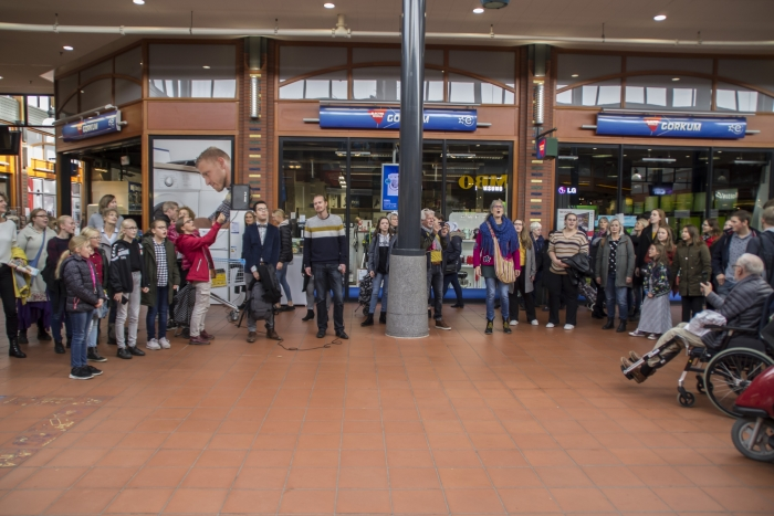 Flashmob Henk Hartman © BDU Media
