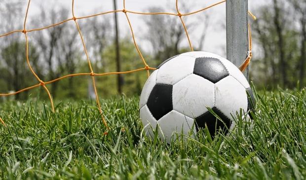 <p>Voetbal stock, stock, goal</p>